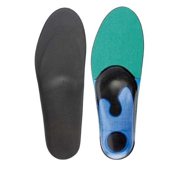 full length blue green orthotics